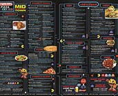 Old School Pizza Menu